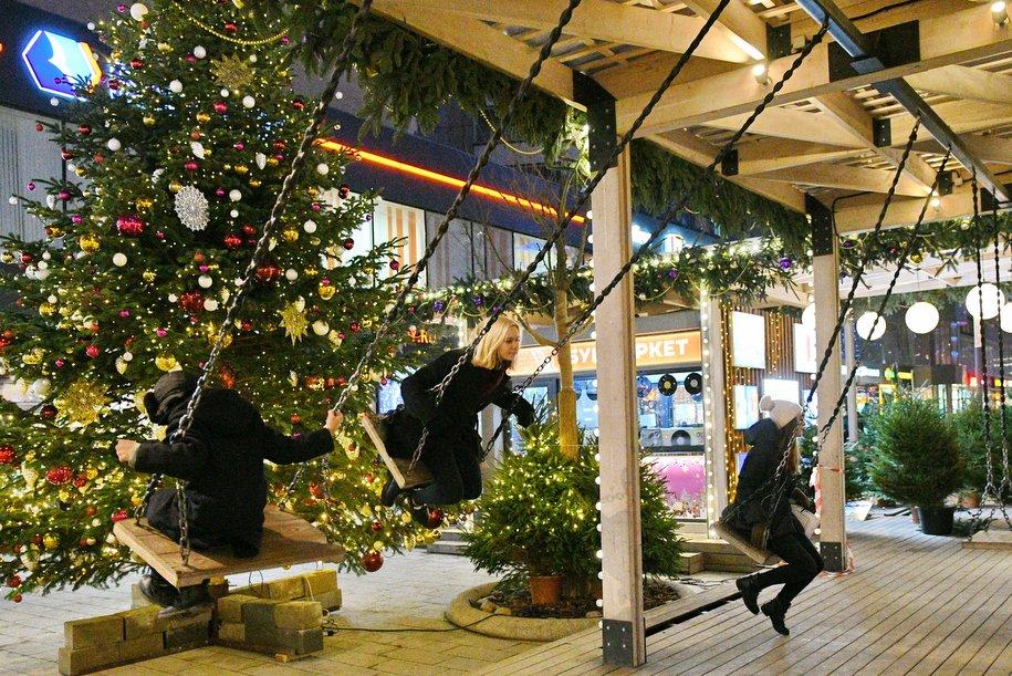 Фестиваль «Путешествие в Рождество» посетили 14,5 млн человек