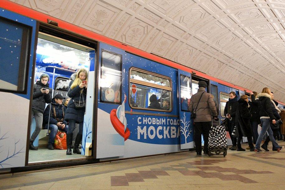 В поездах метро могут появиться экраны вместо окон