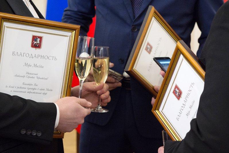 Мэр вручил награды столичным работникам культуры