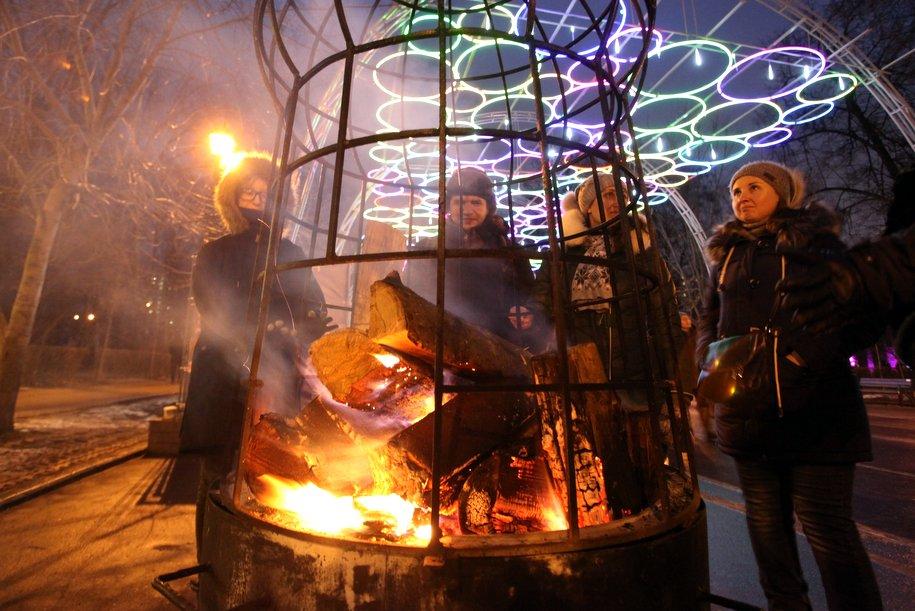 Ночь на18января стала самой холодной в столицеРФ сначала зимы