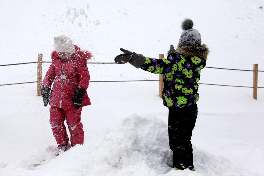 Собянин: «Работы по вывозу снега не прекращаются в Москве»