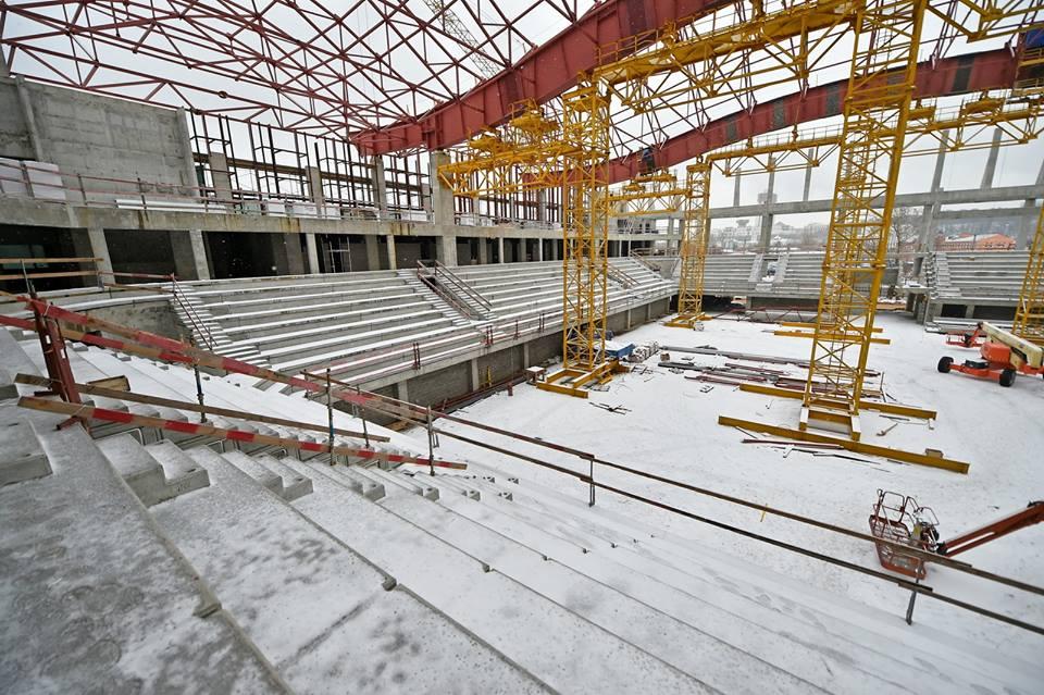 Центр художественной гимнастики в«Лужниках» планируют открыть в столице России в 2018г