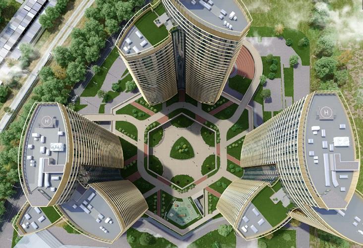 На западе Москвы построят ЖК с садами на крыше