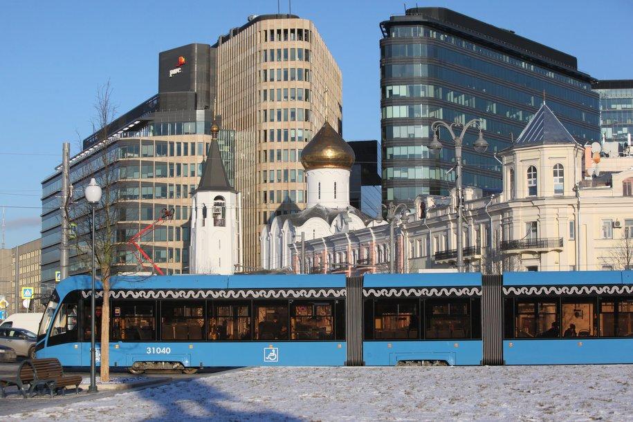 Число трамваев «Витязь-М» увеличится до 300 штук к 2019 году