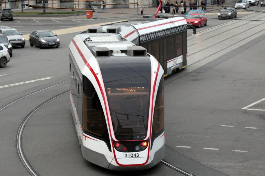 В Даниловском районе отремонтируют трамвайные пути