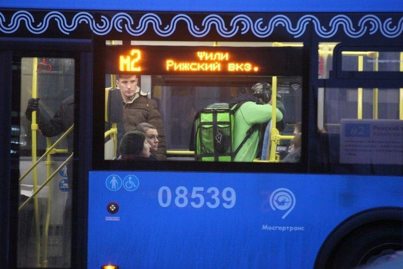 Собянин: «В крещенскую ночь продлим работу 35 автобусных маршрутов»