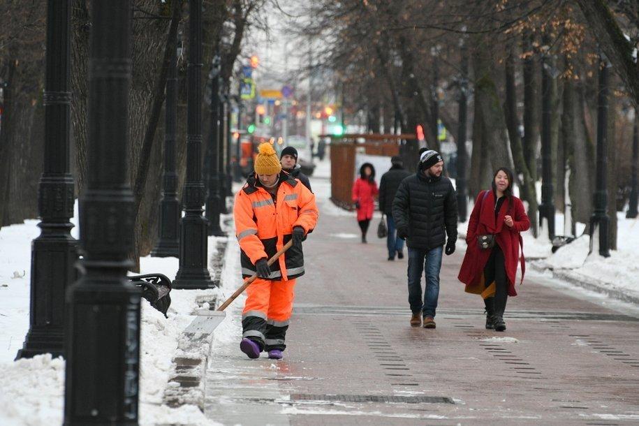 В Москве ожидаются скоротечные снегопады