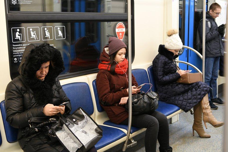 Восьмивагонные поезда выйдут 10января на«красную» линию метро столицы
