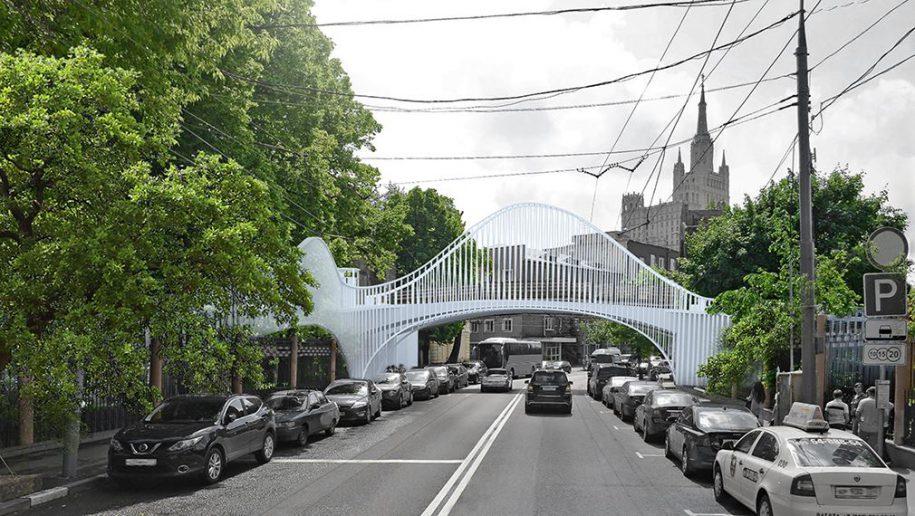 Новый пешеходный мост построят вМосковском зоопарке