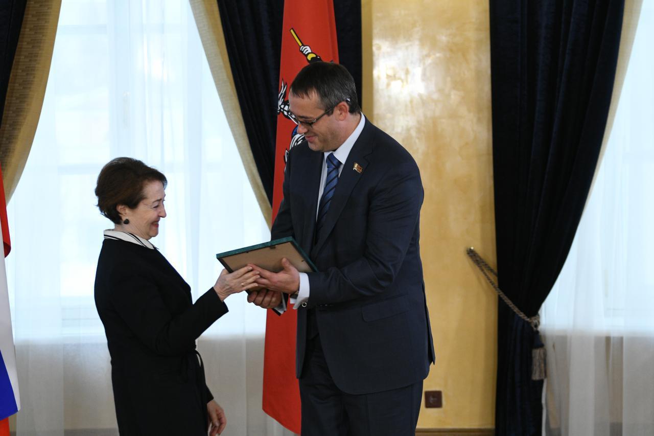 В Мосгордуме вручили награды журналистам