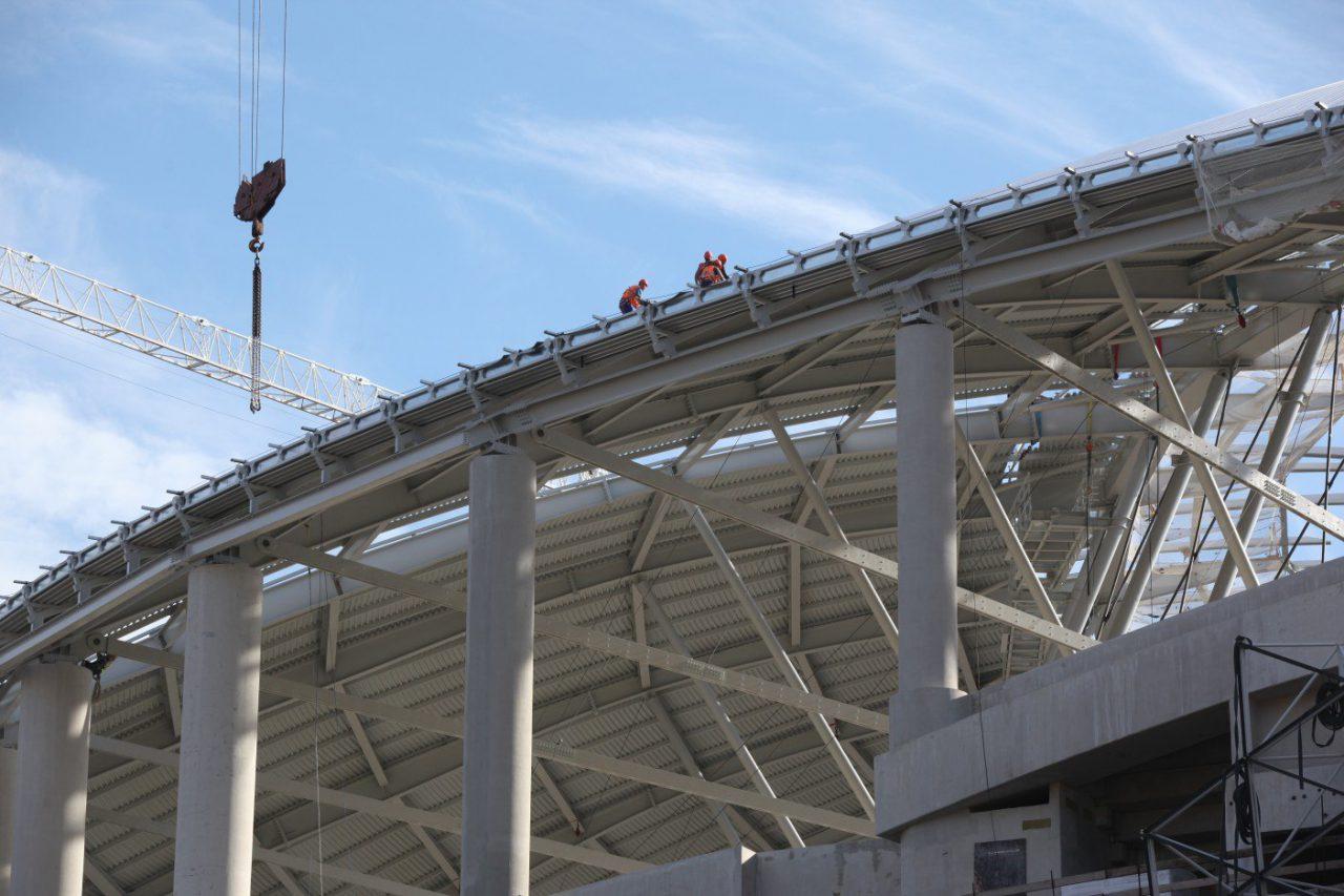 Стадион «Динамо» планируют открыть в апреле 2018 года