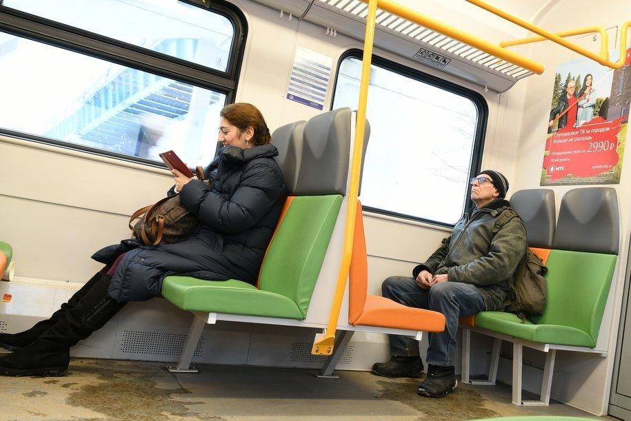 Электропоезд Москва-Калуга сломался возле Обнинска