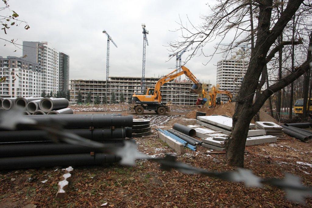 В составе ТПУ «Ходынское поле» построят два административных здания
