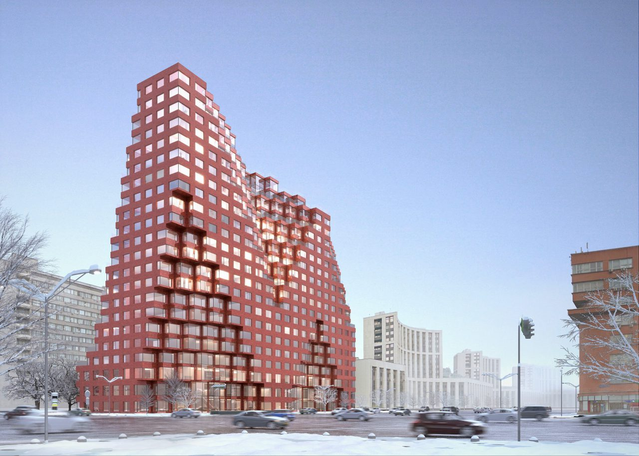 Голландский проект апарт-комплекса наСадовом кольце одобрен вкрасном исполнении