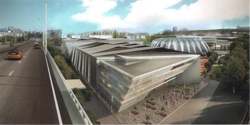 В Лужниках появится теннисный клуб с бассейном
