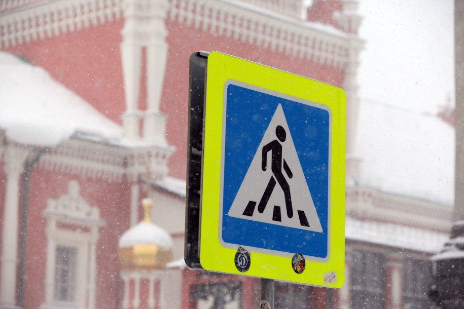 До конца года в Москве появятся 15 внеуличных пешеходных переходов