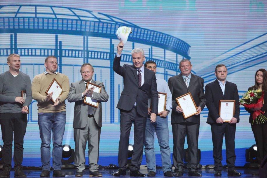 Сергей Собянин поблагодарил лучших московских строителей