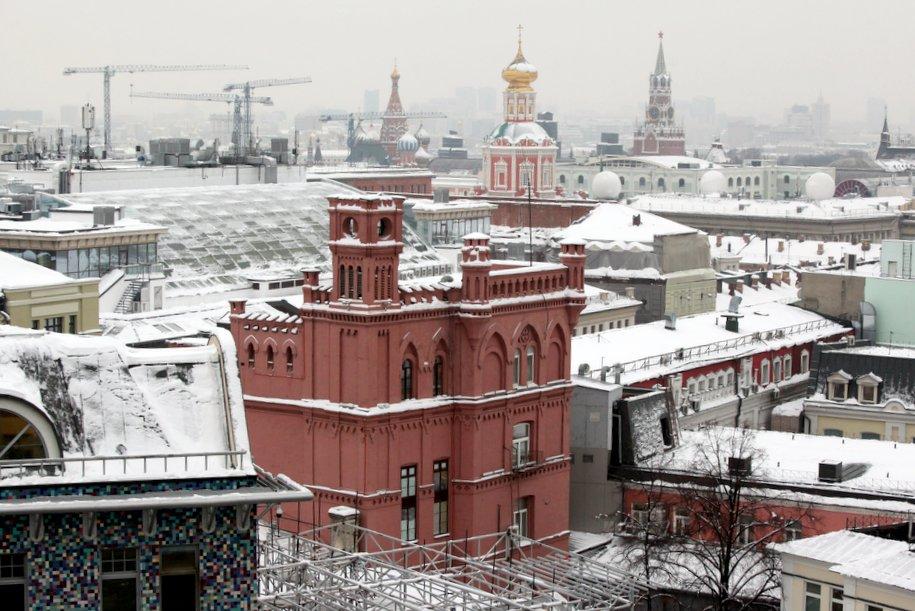 Кирпичный дом возрастом 150 лет в центре Москвы стал выявленным памятником архитектуры