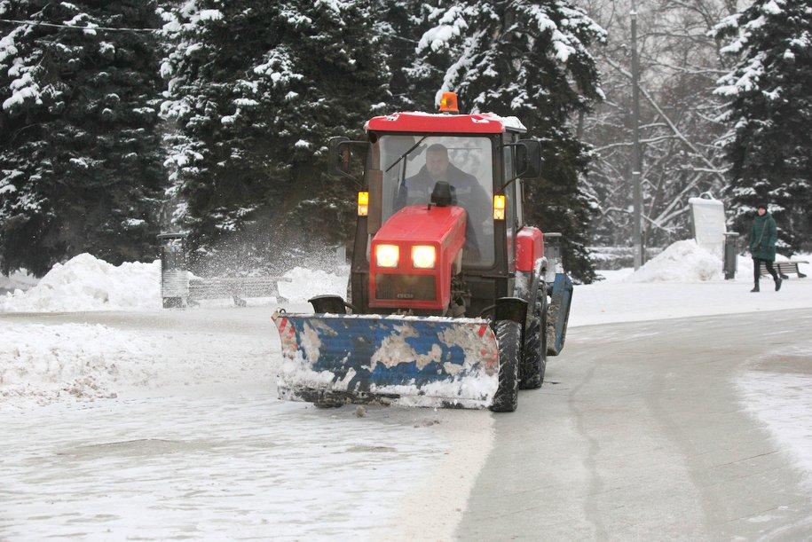 В Москве ведется видеомониторинг уборки улиц от снега