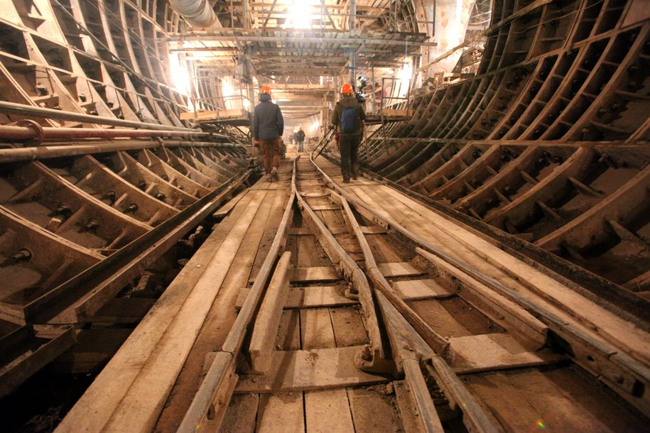 Строительные работы на участке метро до «Селигерской» завершены