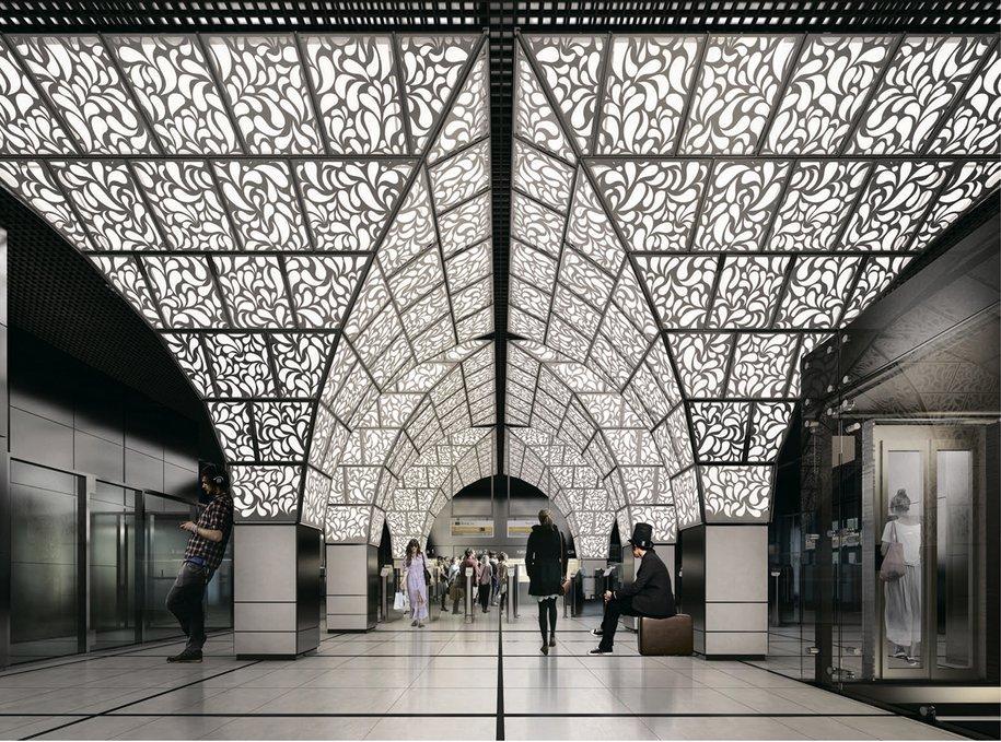 В Москве построят 13 станций метро за МКАД
