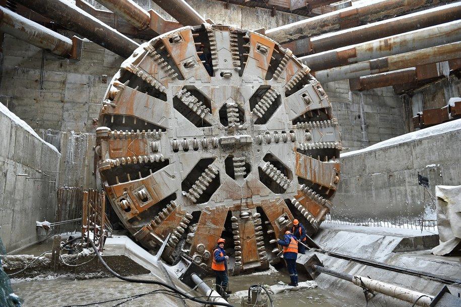 Готов первый двухпутный тоннель на Кожуховской линии метро