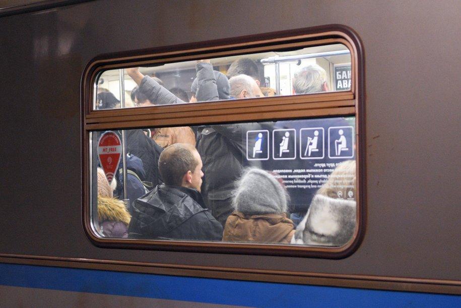 Столичное метро приходило вовремя в 2017 году почти на 100 процентов