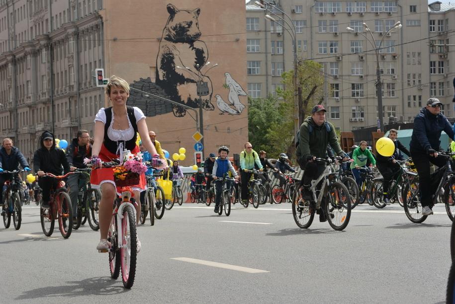 В конце мая на Садовом кольце пройдет любительская велогонка