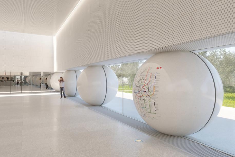 Станции метро «Шереметьевская» началось строительство эскалаторного тоннеля