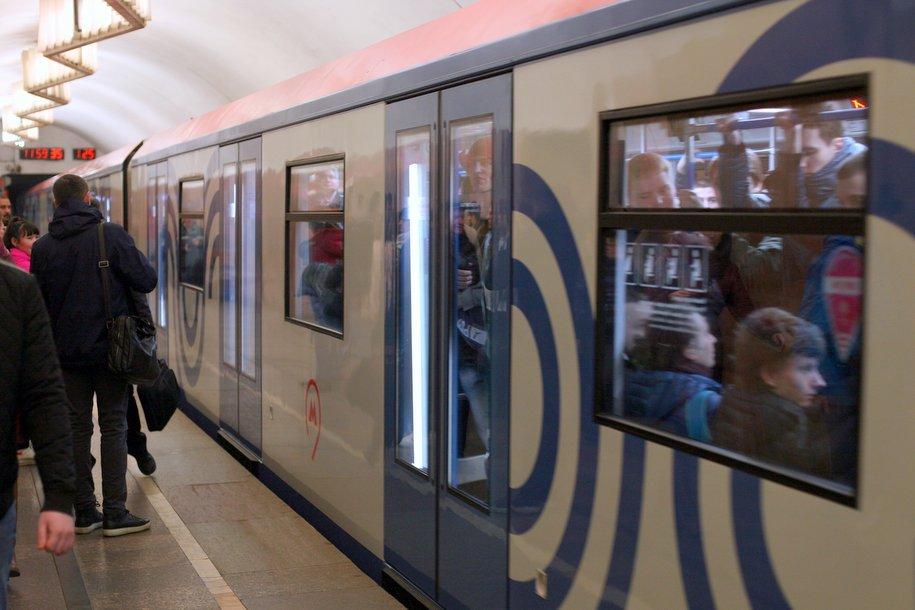 Поезда «Москва» заменят весь состав фиолетовой ветки метро к 2020 году