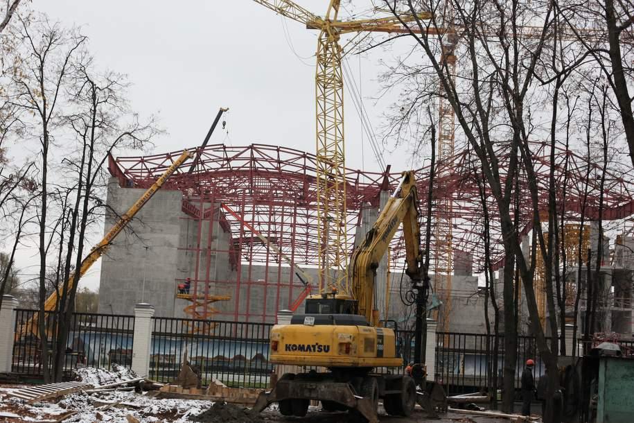 В 2019 году планируется ввести ледовый дворец «Кристалл» в Лужниках
