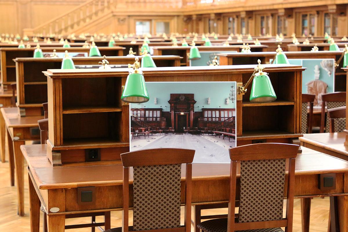В Москве после реставрации открылся самый большой читальный зал в Европе