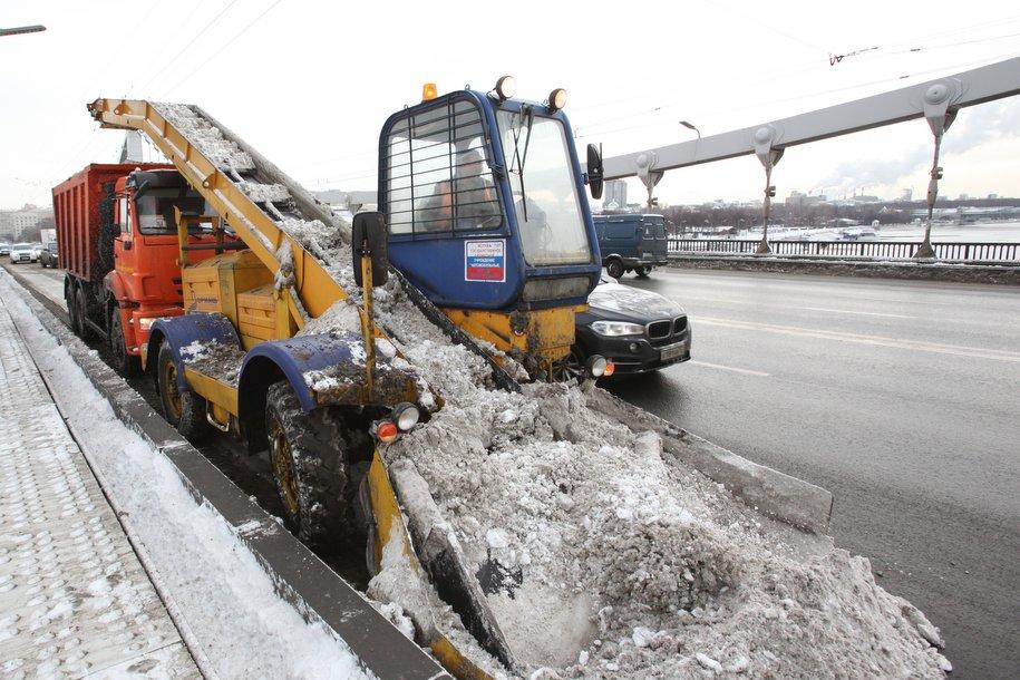 За прошедшие сутки в Москве вывезли 1,25 миллиона кубометров снега