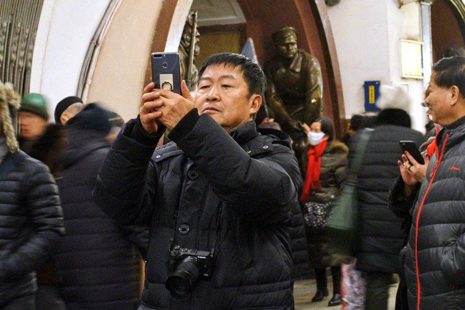 Почти миллион китайских туристов посетили Россию в 2017 году