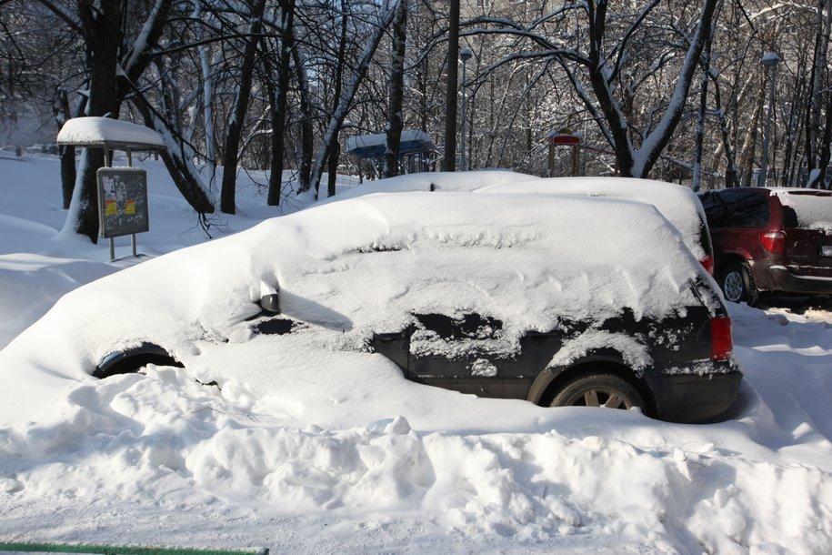 Зимняя норма осадков перевыполнена в столице в 1,5 раза