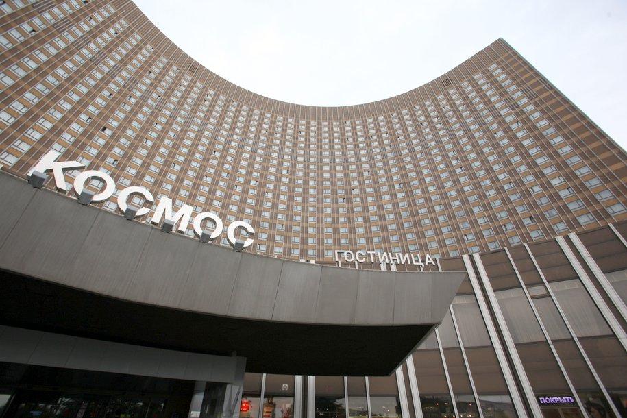 Пожарные ликвидировали возгорание в гостинице «Космос»