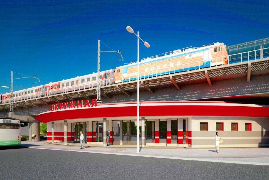 Москомархитектура утвердила дизайн станции метро «Окружная»