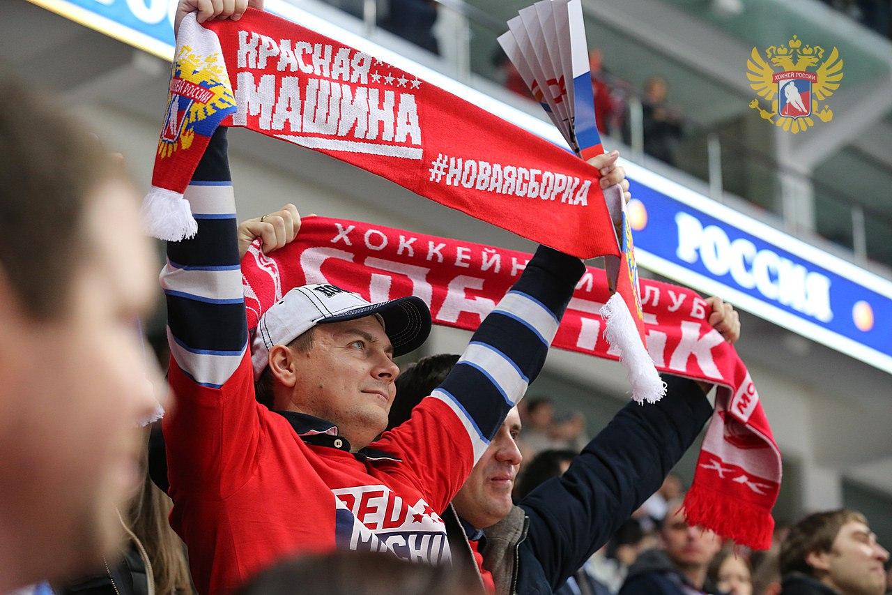 Столичный градоначальник поздравил российских хоккеистов с выходом в финал Олимпийских игр