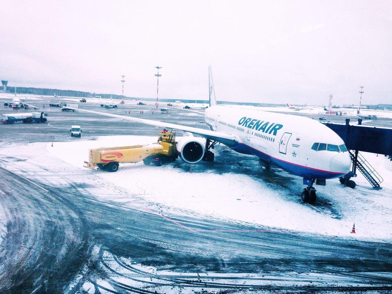 Столичные аэропорты подготовлены к принятию воздушных судов в морозную погоду