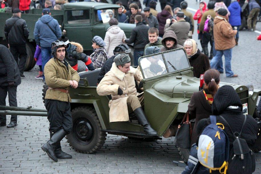 В музее «Московский транспорт» 23 февраля откроется выставка «Солдаты-автомобили»
