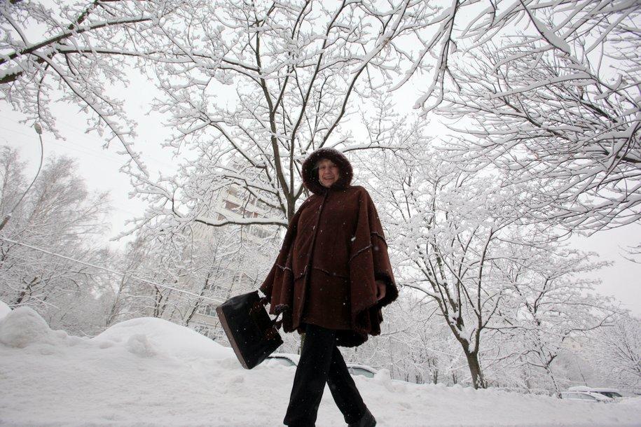 Москвичей ожидает обильный снегопад на предстоящей неделе