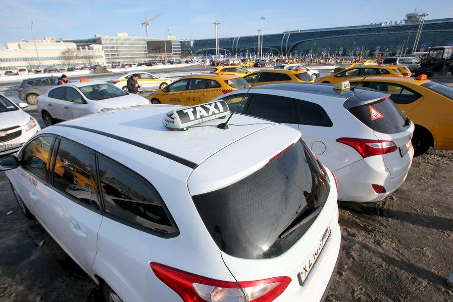 Московские таксисты выучат английский за счет бюджета