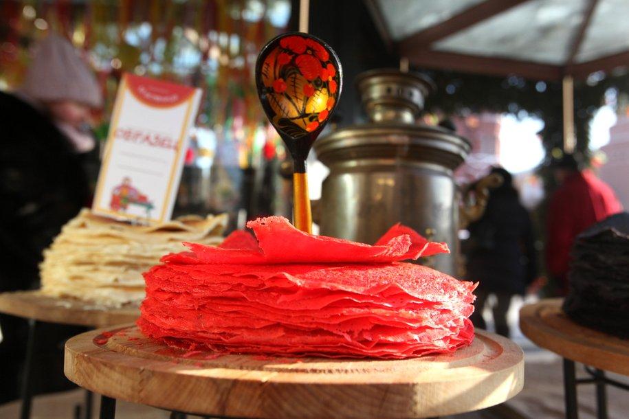 Почти 250 тыс. блинов съели гости фестиваля «Московская масленица»