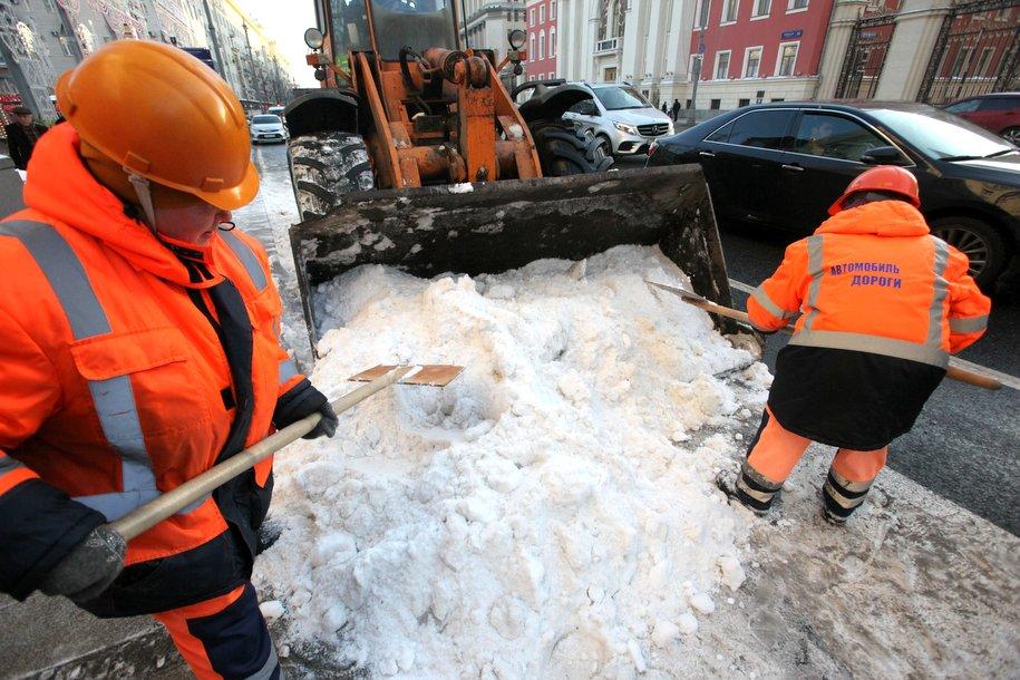 Собянин: «Город справится с рекордными снегопадами в марте»