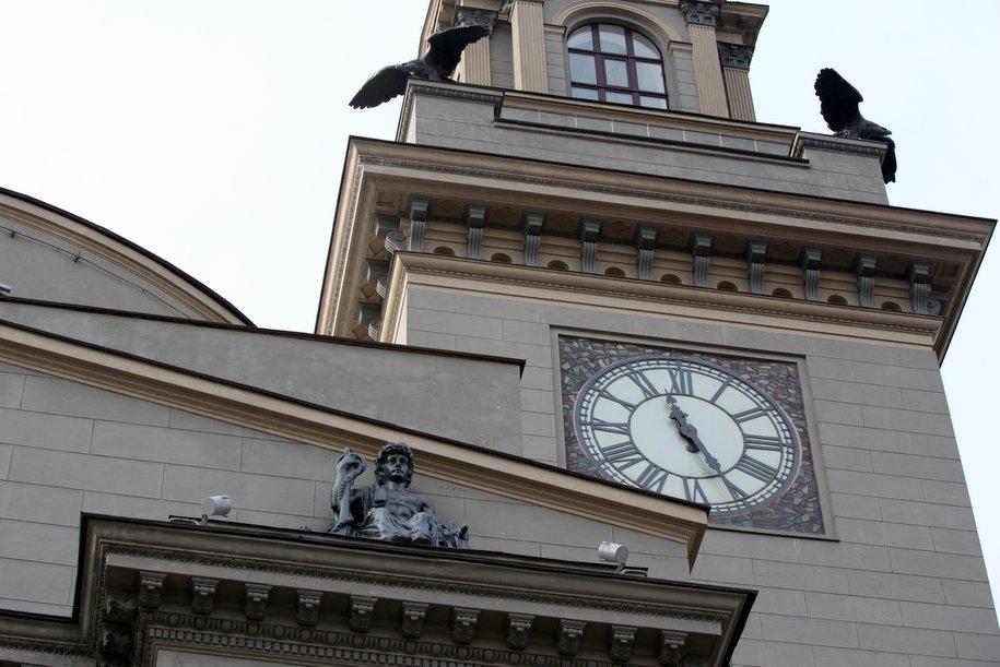 Киевский вокзал отметил 100-летний юбилей