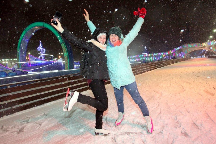 Акцию «Ночь на катке» посвятят российским чемпионам Олимпиады в Пхенчхане