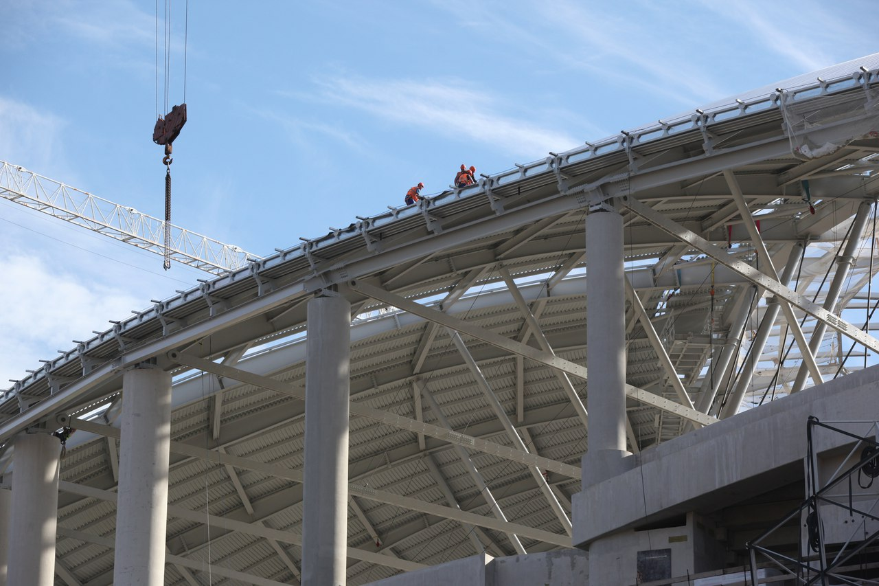 Стадион «Динамо» построят в апреле 2018 года