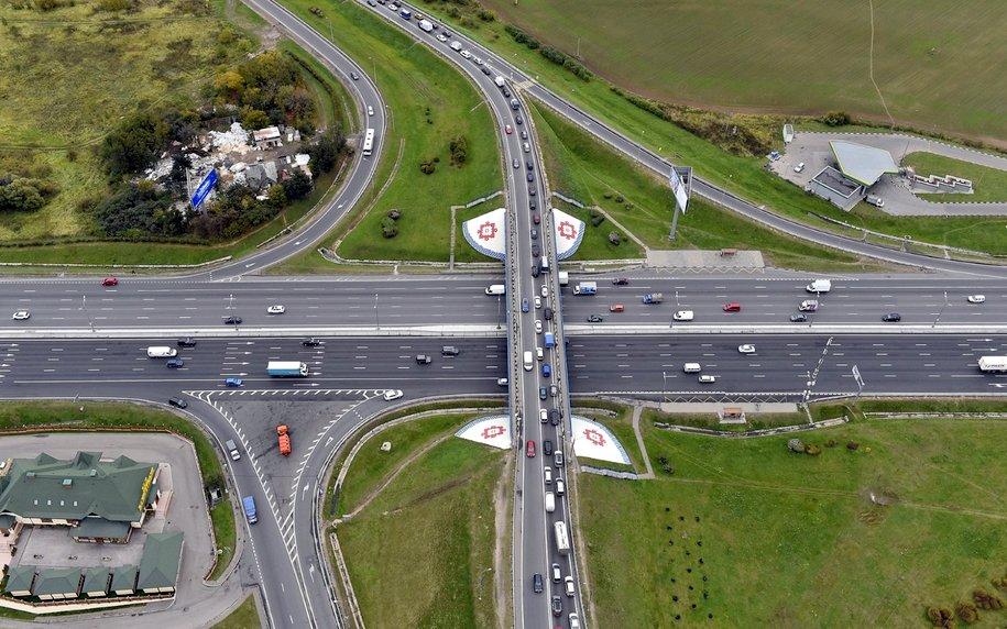 Развязку МКАД с Бесединским шоссе реконструируют