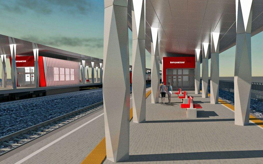 Железнодорожную станцию «Варшавская» в столицеРФ оформят встиле авангард