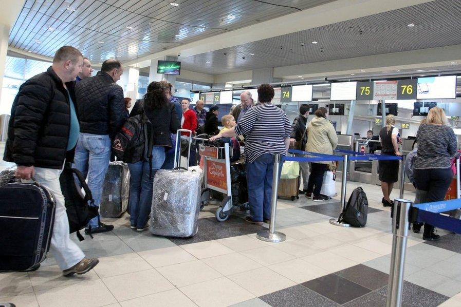 Ваэропортах столицы задержано иотменено неменее 40 рейсов